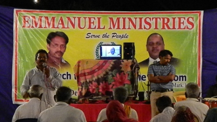 Gospel Crusade – Emmanuel Ministries India